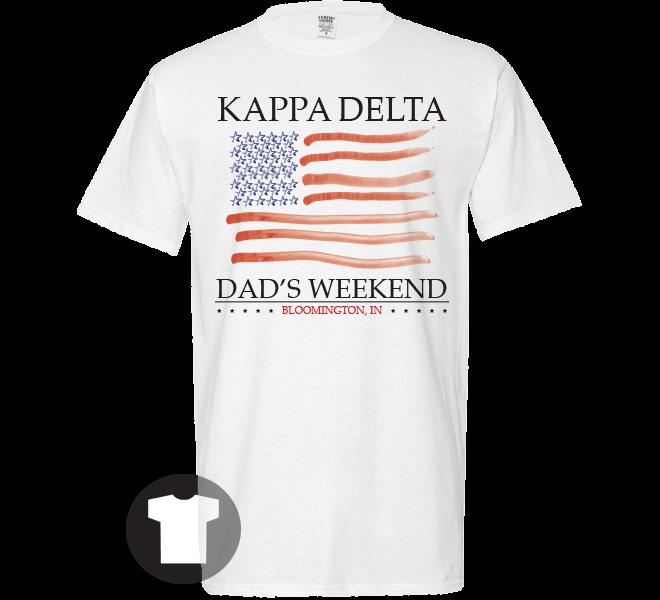 73bc05332 Kappa Delta Patriotic Dad's Weekend